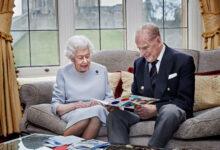 صورة بالفيديو.. الملكة إليزابيث والأمير فيليب يحتفلان بعيد زواجهما الـ73