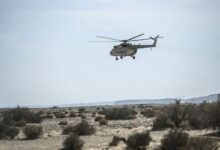 صورة الجيش الأمريكي يعلن أسماء ضحايا تحطم مروحية في مصر