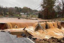 صورة مقتل ما لا يقل عن 7 أشخاص بسبب السيول في ولاية نورث كارولاينا