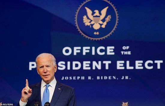 صورة رسميا.. المجمع الانتخابى يصدق على فوز جو بايدن بالانتخابات الرئاسية الأمريكية