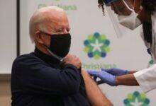 صورة بايدن: واحد من كل 10 أمريكيين تلقوا لقاح كورونا