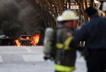 صورة اللحظات الأولى لتفجير ناشفيل صباح يوم الكريسماس.. والشرطة: الحادث متعمد