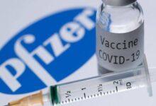 صورة إصابة ممرض أمريكي بفيروس كورونا بعد أسبوع من تلقيه لقاح «فايزر»