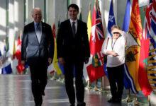 صورة تفاصيل مكالمة الـ«30 دقيقة» بين يايدن ورئيس الوزراء الكندي