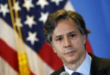 صورة تفاصيل أول مؤتمر صحفي لوزير الخارجية الأمريكي الجديد