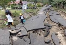 صورة زلزال شديد يضرب جنوب كاليفورنيا