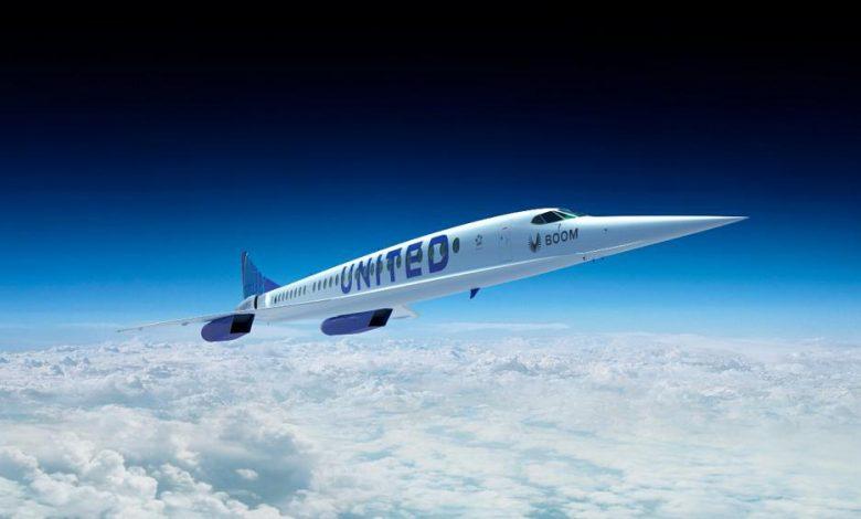 صورة يونايتد إيرلاينز الأمريكية تتعاقد على طائرات تتيح السفر من نيوارك بنيوجيرسي إلى لندن في 3 ساعات ونصف