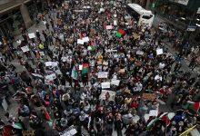 صورة تظاهرة في نيويورك غدًا الثلاثاء بسبب فلسطين