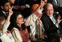 صورة بالفيديو.. رشيدة طليب تنفجر بالبكاء في مجلس النواب الأمريكي بعد قرار دعم «القبة الحديدية»