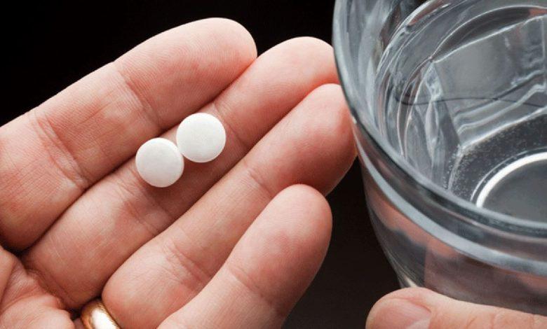 صورة تحذير أمريكي لكبار السن بشأن تناول أقراص الأسبرين