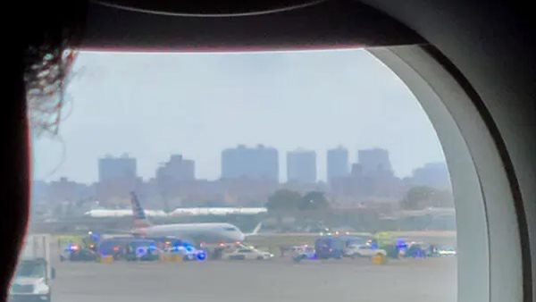 صورة تهديد أمني يجبر طائرة على الهبوط الاضطراري في مطار لاجوارديا بنيويورك