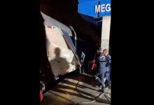 صورة إصابة 33 شخصا في اصطدام قطارين بتونس