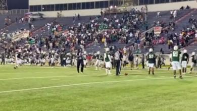 صورة بالفيديو..  4 إصابات إثر إطلاق نار في مباراة كرة قدم أمريكية