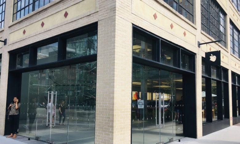 صورة خلاف بشأن الكمامة ينتهي بعدة طعنات لحارس متجر آبل في مانهاتن